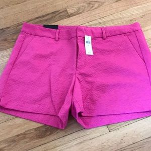 NWT Banana Republic Shorts Fuscha Size 14